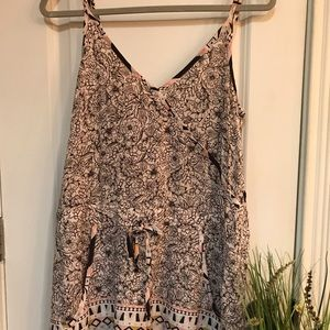 French Connection Romper With Pockets